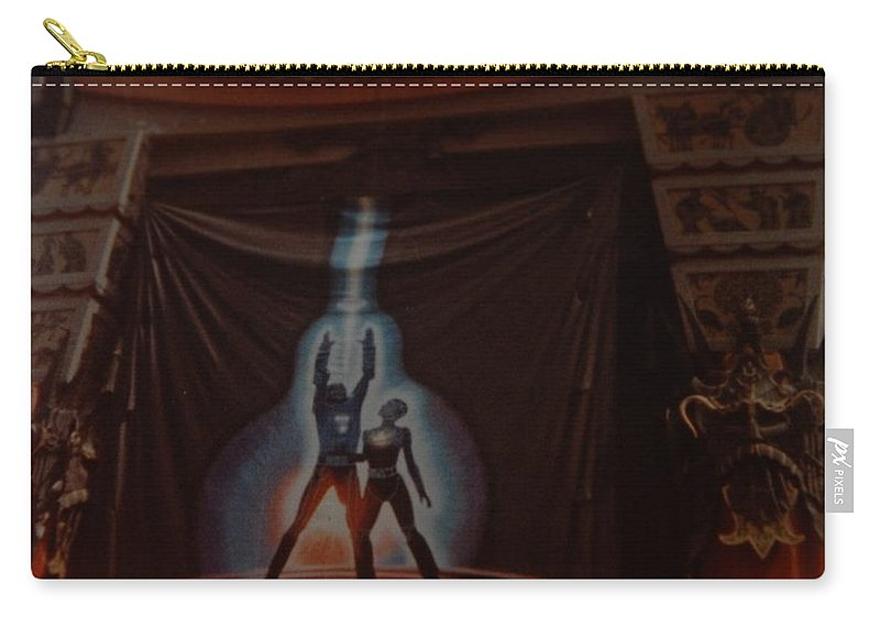 Grumanns Chinese Theater Carry-all Pouch featuring the photograph Tron by Rob Hans