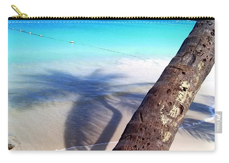 Carry-all Pouch featuring the photograph Tropic Shadows by Todd Hummel