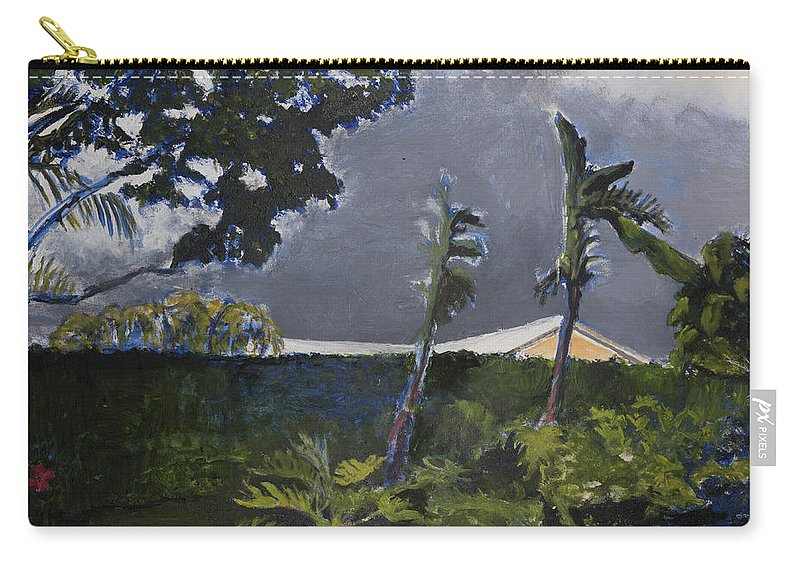 Tropic Carry-all Pouch featuring the painting Tropic Wind by Craig Newland
