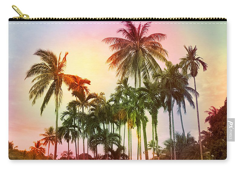 Tropical Carry-all Pouch featuring the photograph Tropical 11 by Mark Ashkenazi