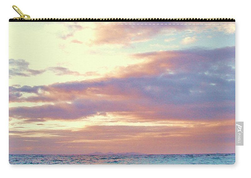 Contemporary Carry-all Pouch featuring the photograph Tropical Dreaming by Margaret Bobb