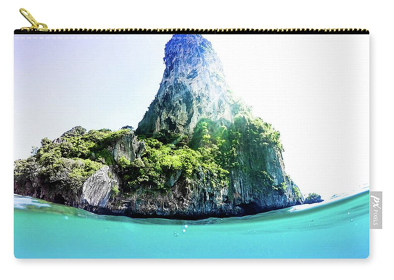 Nature Carry-all Pouch featuring the photograph Tropical Island by Nicklas Gustafsson