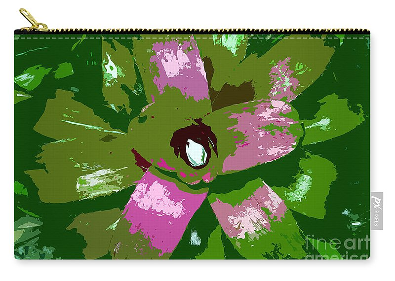 Tropical Carry-all Pouch featuring the photograph Tropical Plant Work Number 5 by David Lee Thompson