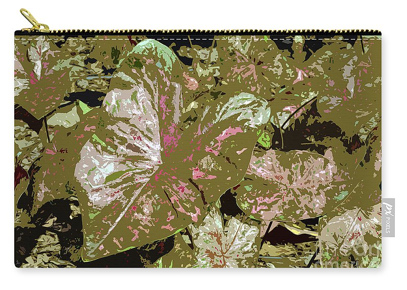 Tropical Carry-all Pouch featuring the photograph Tropicals by David Lee Thompson