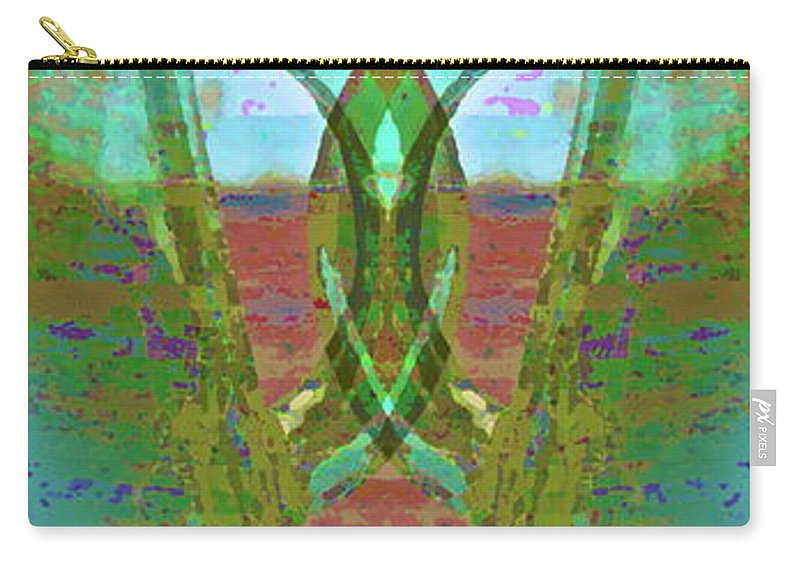Abstract Carry-all Pouch featuring the photograph True Form by Gwyn Newcombe