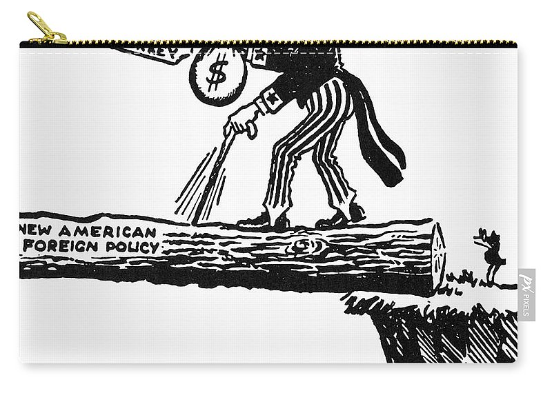 truman doctrine cartoon carry all pouch for sale by granger