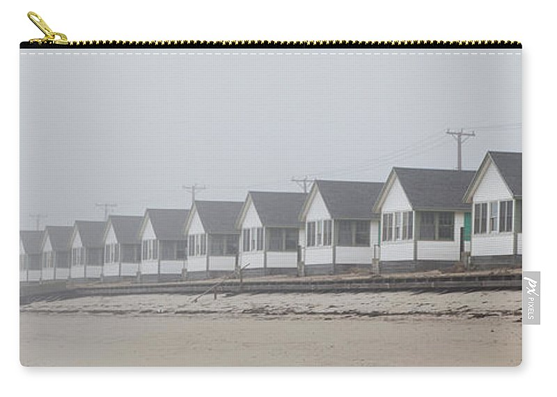 Truro Carry-all Pouch featuring the photograph Truro Fog Imagination by Charles Harden