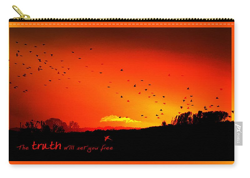 Landscape Carry-all Pouch featuring the photograph Truth by Holly Kempe