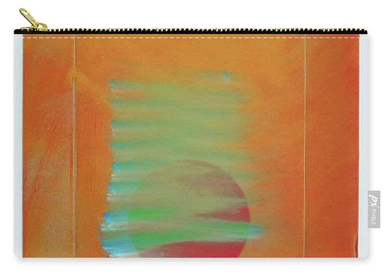 Tsunami Carry-all Pouch featuring the painting Tsunami by Charles Stuart