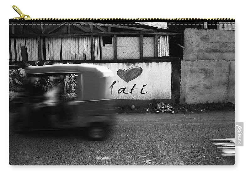 Mati Carry-all Pouch featuring the photograph Tuk Off by Jez C Self