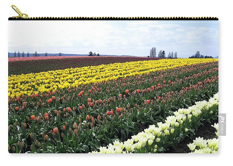 Agriculture Carry-all Pouch featuring the photograph Tulip Town 11 by Will Borden