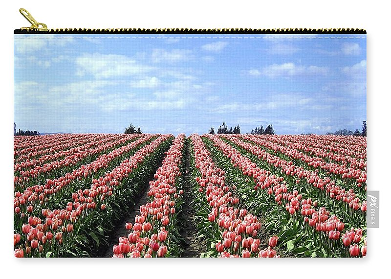 Agriculture Carry-all Pouch featuring the photograph Tulip Town 12 by Will Borden