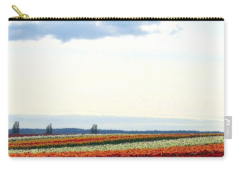 Agriculture Carry-all Pouch featuring the photograph Tulip Town 13 by Will Borden
