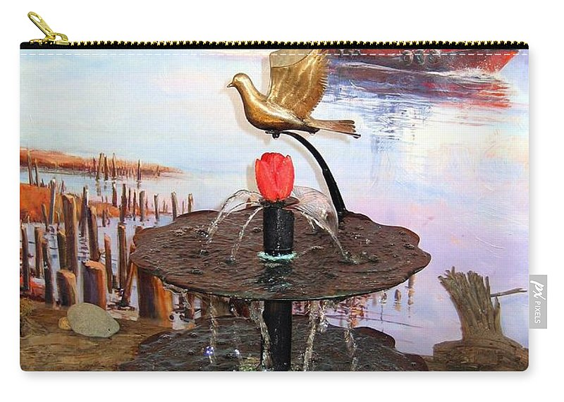Agriculture Carry-all Pouch featuring the photograph Tulip Town 20 by Will Borden