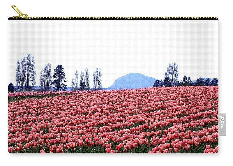 Agriculture Carry-all Pouch featuring the photograph Tulip Town 3 by Will Borden