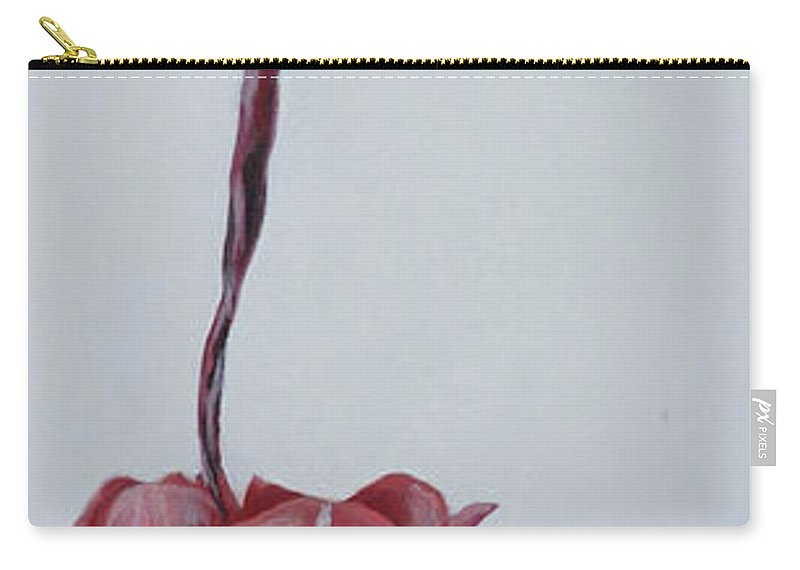 Tulip Carry-all Pouch featuring the painting Tulip by Travis Day