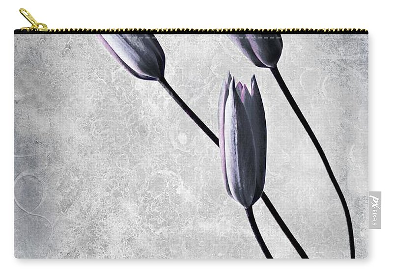 Flowers Carry-all Pouch featuring the photograph Tulips by Jacky Gerritsen