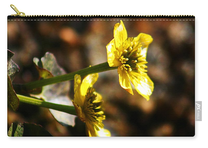 Wild Flowers Carry-all Pouch featuring the photograph Tundra Rose by Anthony Jones
