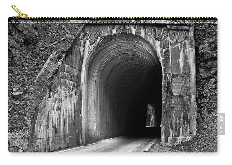Idaho Carry-all Pouch featuring the photograph Tunnel by Leland D Howard