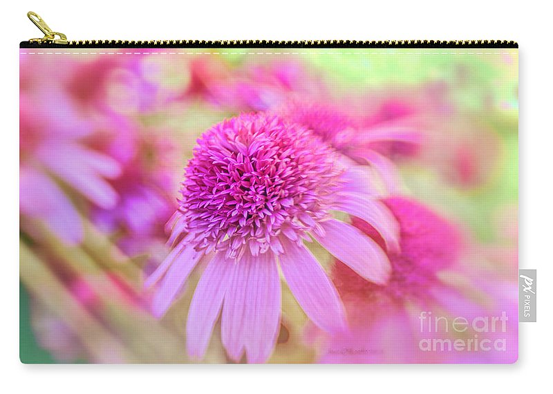 Macro Carry-all Pouch featuring the photograph Turn Our Eyes by Jean OKeeffe Macro Abundance Art
