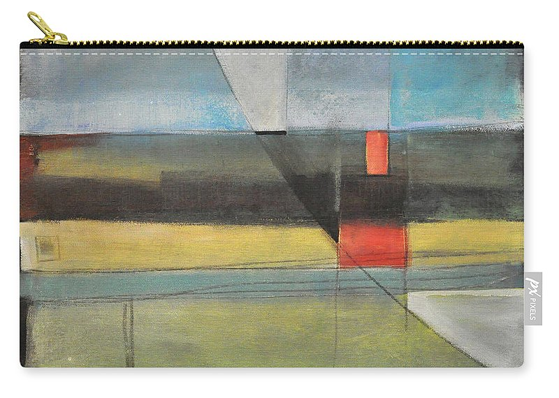 Harvest Carry-all Pouch featuring the painting Twilight Harvest by Tim Nyberg