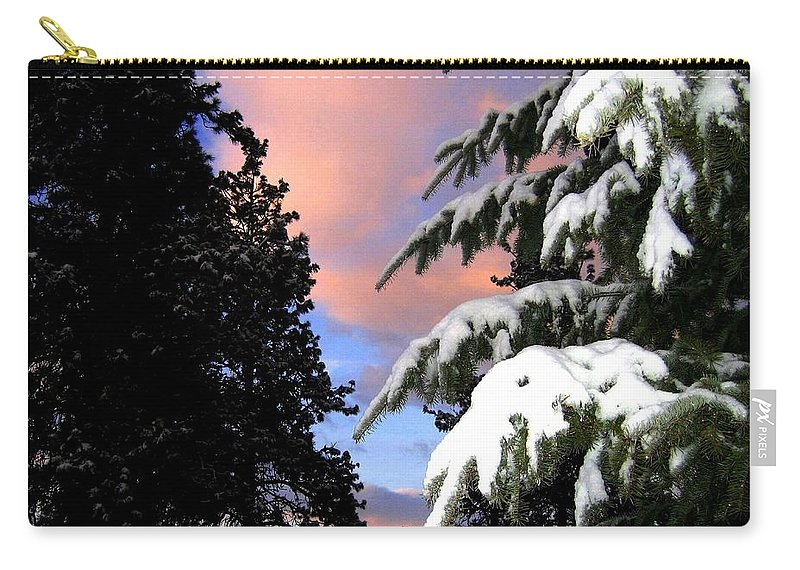 Sunset Carry-all Pouch featuring the photograph Twilight Hour by Will Borden