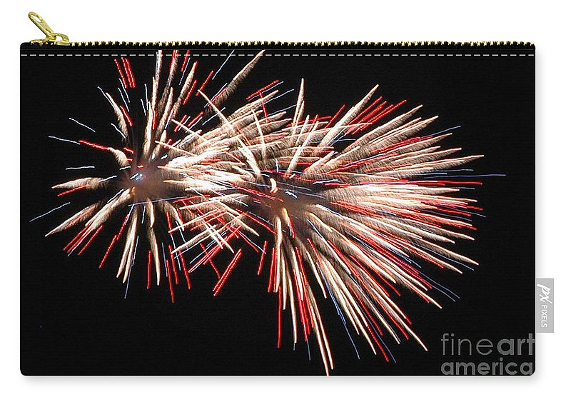 California Scenes Carry-all Pouch featuring the photograph Twin Burst by Norman Andrus