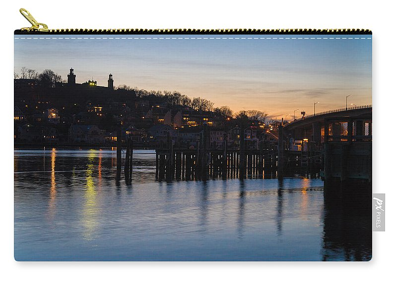 New Jersey Carry-all Pouch featuring the photograph Twinsies by Kristopher Schoenleber