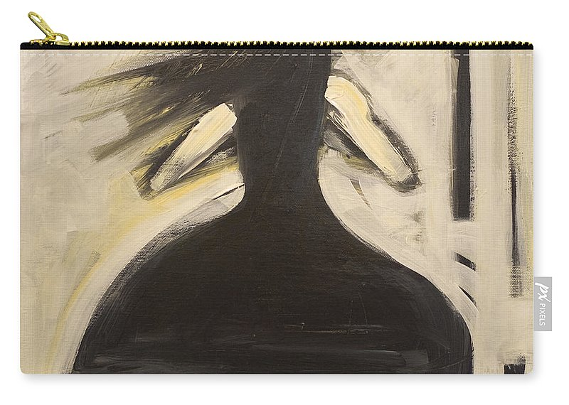Twirl Carry-all Pouch featuring the painting Twirling by Tim Nyberg