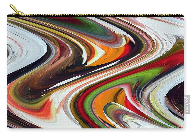 Twist And Shout Carry-all Pouch featuring the painting Twist And Shout by Dawn Hough Sebaugh