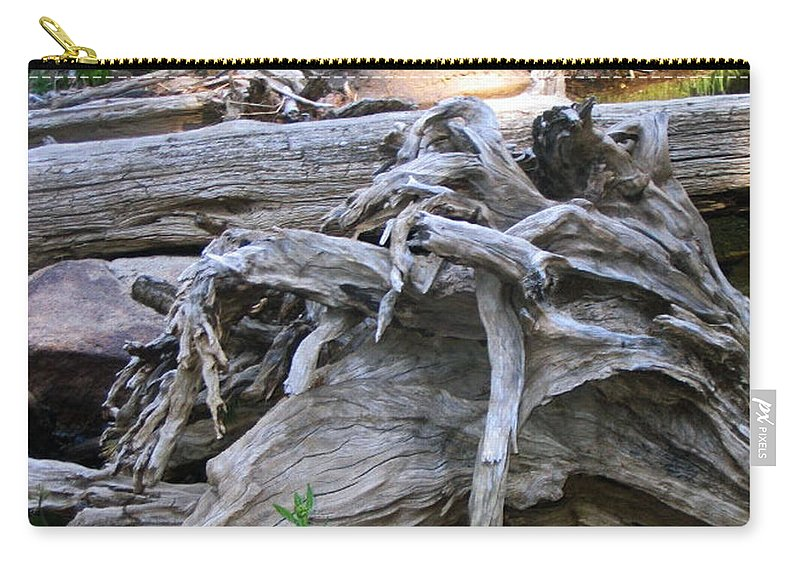 Landscape Carry-all Pouch featuring the photograph Twisted Fate by Dawn Marshall