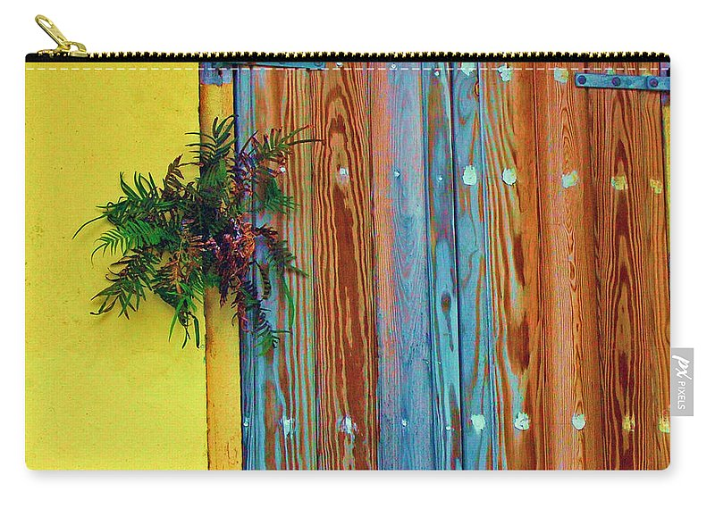 Door Carry-all Pouch featuring the photograph Twisted Root by Debbi Granruth