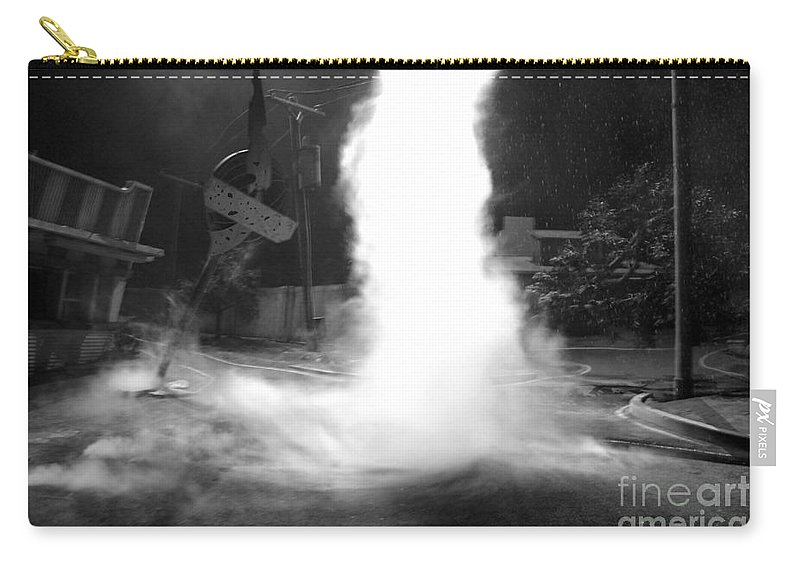 Twister Carry-all Pouch featuring the photograph Twister In The Neighborhood by David Lee Thompson
