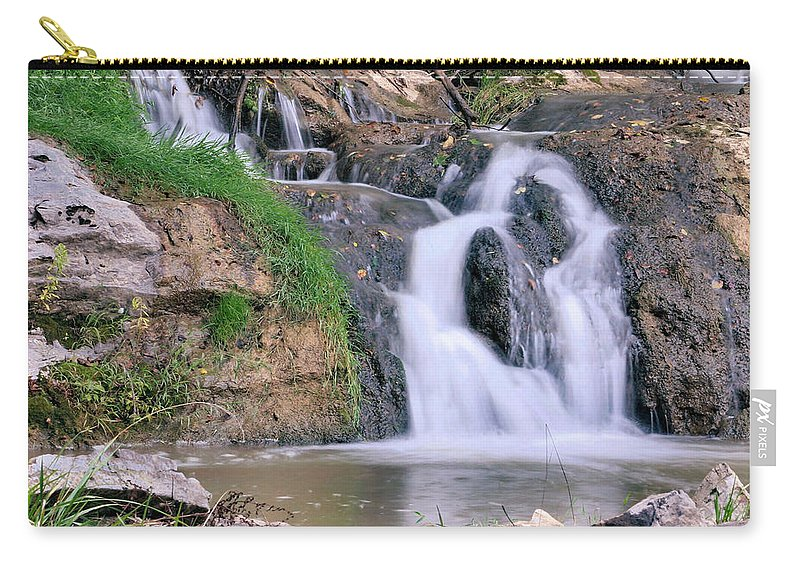 Waterfall Carry-all Pouch featuring the photograph Two Apostles by Kristin Elmquist