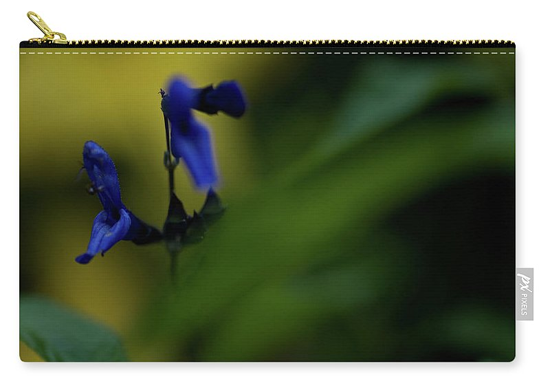 wild Flowers Carry-all Pouch featuring the photograph Two Blue by Paul Mangold