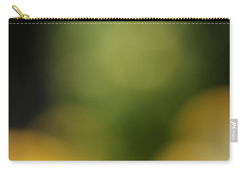 Flower Carry-all Pouch featuring the photograph UFO by Norah Holsten