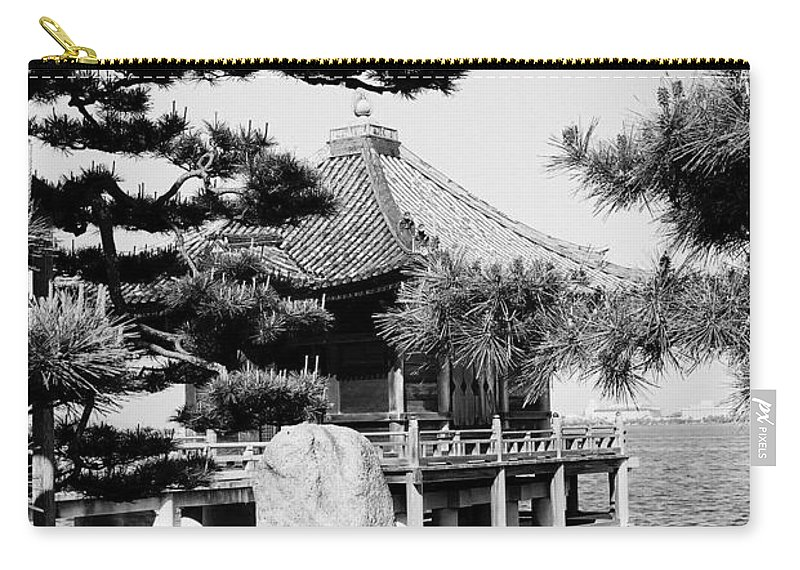 Asia Carry-all Pouch featuring the photograph Ukimi-do Temple by Juergen Weiss