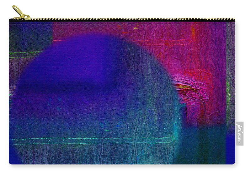 Landscape Carry-all Pouch featuring the painting Ultradeep Lavender by Charles Stuart