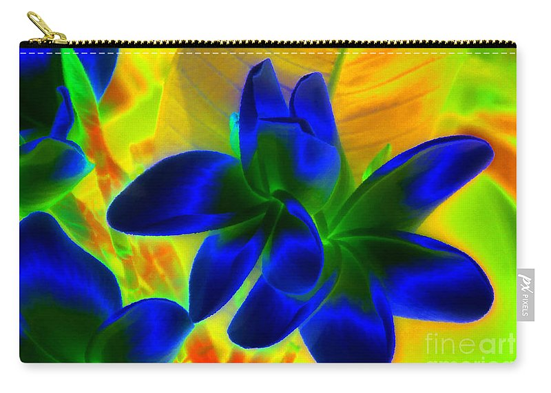 Ultraviolet Carry-all Pouch featuring the painting Ultraviolet by David Lee Thompson