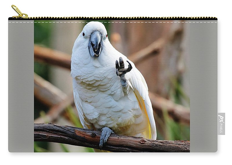 Umbrella Cockatoo Carry-all Pouch