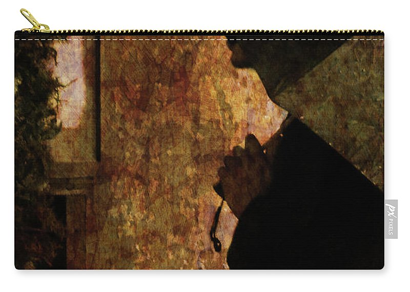 Umbrella Carry-all Pouch featuring the photograph Umbrella by Kathleen K Parker