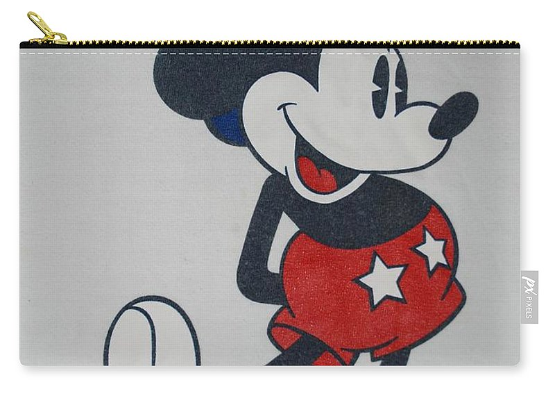 Disney Carry-all Pouch featuring the photograph Uncle Mickey by Rob Hans