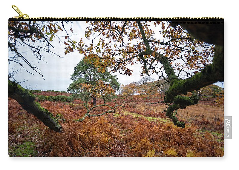 Svetlana Sewell Carry-all Pouch featuring the photograph Under A Tree by Svetlana Sewell