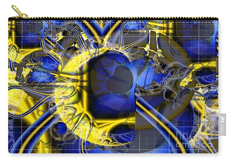 Radar Carry-all Pouch featuring the digital art Under The Radar by Ron Bissett