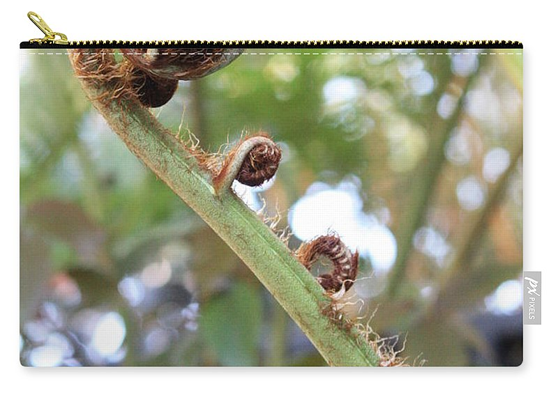 Nature Carry-all Pouch featuring the photograph Unfurling by Carol Groenen