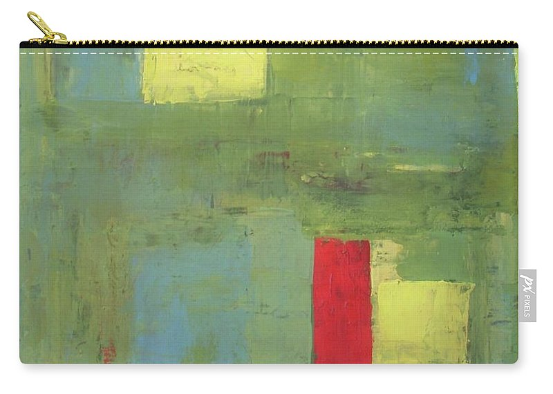 Abstract Carry-all Pouch featuring the painting Unico by Vesna Antic
