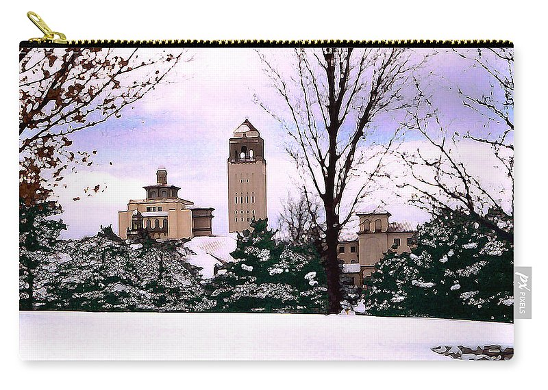 Landscape Carry-all Pouch featuring the photograph Unity Village by Steve Karol