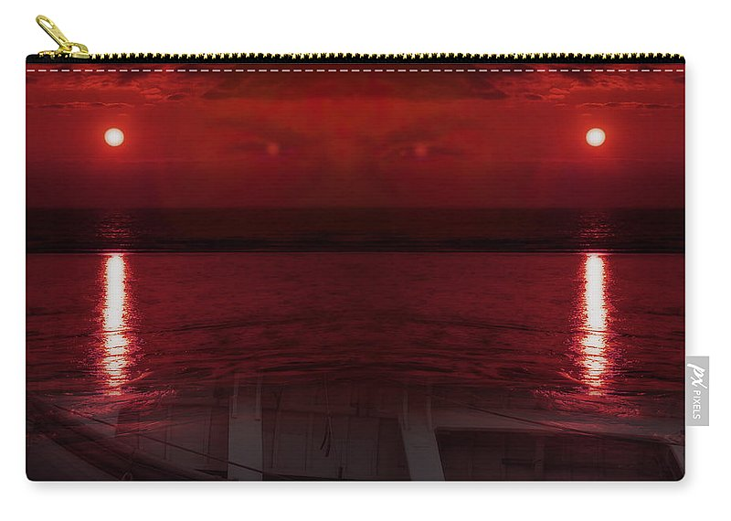 Abstract Carry-all Pouch featuring the photograph Unknown Planet by Svetlana Sewell