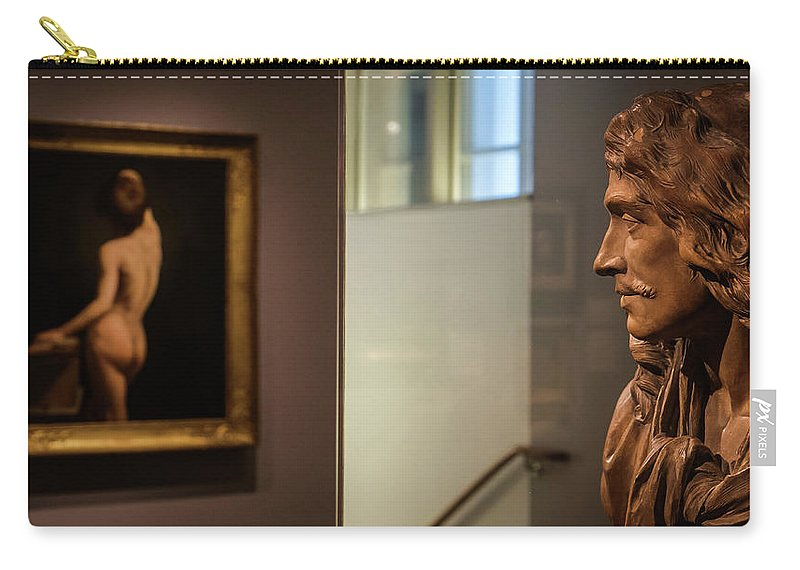 Museum Carry-all Pouch featuring the photograph Unrequited Love by Glenn DiPaola