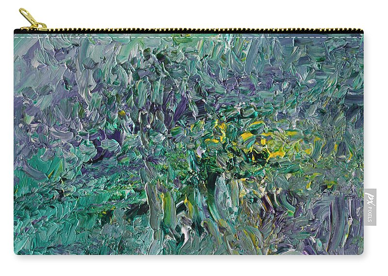 Fusionart Carry-all Pouch featuring the painting Blind Giverny by Ralph White